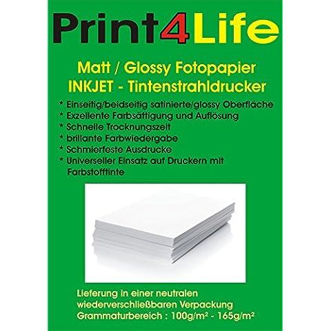 4000 brillante hoja de papel fotográfico brillante 10,2cm x 15,2cm (4x6 pulgadas) 240g / m². 240. moldeada papel recubierto de papel de alta fotográfica blanco, de color blanco brillante y brillante para impresiones en color de alta calidad.
