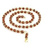 Sukkhi Gorgeous Gold Plated Rudraksh Mala Chain for Men