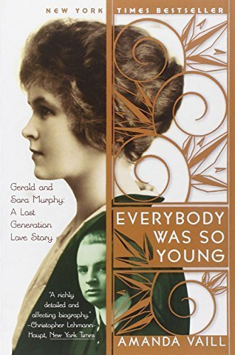 Portada del libro Everybody Was So Young: Gerald and Sara Murphy: A Lost Generation Love Story by Amanda Vaill (1999-04-20)