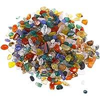VORCOOL Rocas de Cristal triturado Natural Trozos de Piedra Piedras de Forma Irregular para jarrones Plantas
