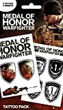 Medal Of Honor Paquet De Tatouages - Pack 1, 9 Tattoos (17 x 10 cm)