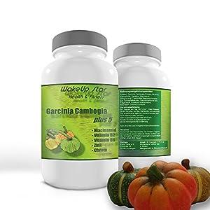 Garcinia Cambogia Fatburner Diät-Kapseln | Appetitzügler Zink | 90 Kapseln *zertifiziert* | 1500mg/Tagesdosis | Premium-Qualität 2019 | made in Germany