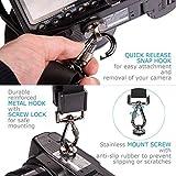 GOMAN Kameragurt Schultergurt Schnellverschluss Neopren Kamera Tragegurt Schultergurt Gurt für Canon Nikon Sony Fujifilm Olympus DSLR SLR - Schwarz Vergleich