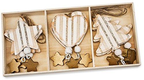Alberi Di Natale In Legno Da Appendere : Decorazioni natale in legno miglior prezzo offerte opinioni