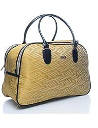 FLYIT Travel Duffel Bag Cream Color