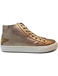 liu jo Girl UM23259 Oro Sneakers Polacchine Scarpe Bambina Donna Calzature 0c766d2291b