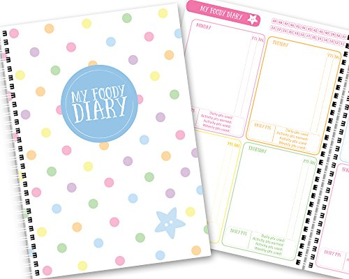 my-foody-diary-weight-watchers-12-months-handmade-food-diary-food-planner-diet-diary-tracker-a5-rain