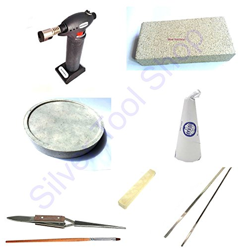solder-kit-starter-kit-for-soldering-jewellery-includes-torch-borax-dish-borax-cone-and-solder-from-