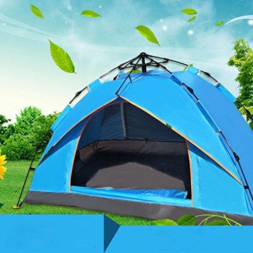 DD Outdoor-Sport-Ausrüstung Camping Camping Automatische Wasserdichte Zelte , , 3-4,, 3-4 3x3 Wachsen Zelt Komplett