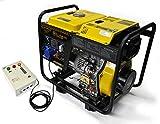 Generador eléctrico 6KW Diesel - Grupo electrógeno con ATS - Arranque eléctrico /...