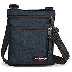 Eastpak Rusher Bolso Bandolera, 23 cm, 1.5 Liters, Azul (Triple Denim )