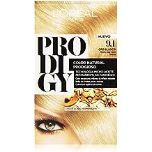 L'Oréal Prodigy Coloración Sin Amoniaco, Tono: 9.1 Rubio Claro