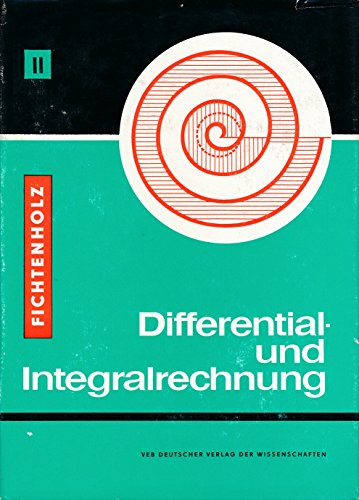 Differential- und Integralrechnung Bd. 2 - Differential