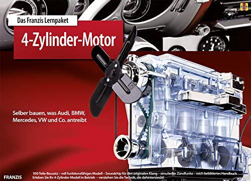 Franzis 65275-9 Lernpaket 4-Zylinder Motor als Bausatz - Engine Model
