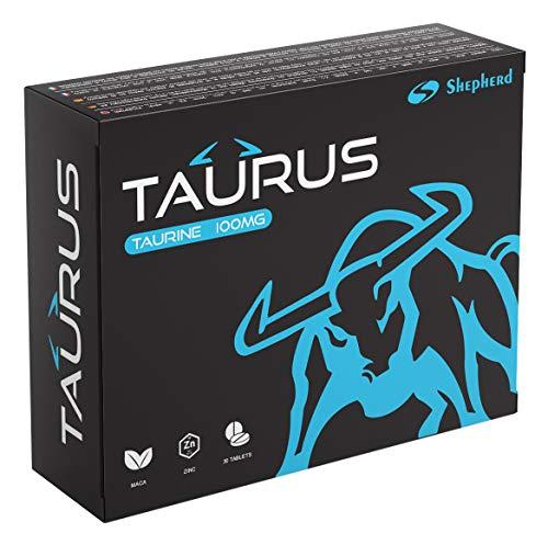 Taurus 100mg 30 Kompressen   Sofortige Wirkung, Maximale Dauer, Ohne Gegenanzeigen, 100% Natürlich