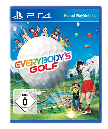 Everybody's Golf - Standard Edition - [PlayStation 4] (Golf Playstation Spiele 4)