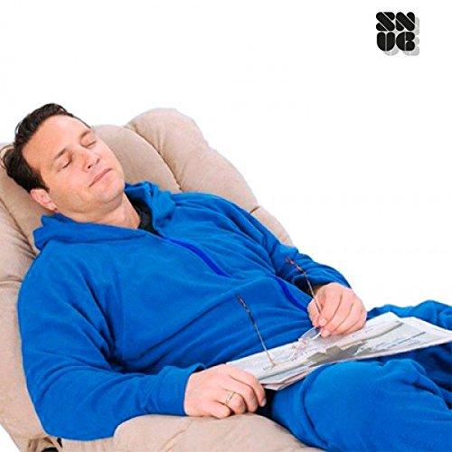 Coperta-pigiama con Maniche Snug Snug Azzurro