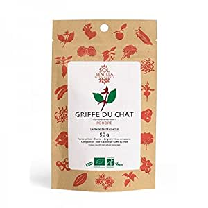 Griffe du Chat Bio Crue | 50g de poudre | Sol Semilla
