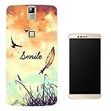 187 - Cute Birds And Sky Smile Fun Design Elephone P8000