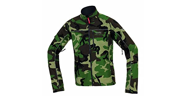 Gore bike wear jacket cosmo camouflage