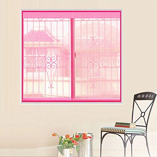 Türen mit magneten bildschirm,Türen für häuser bildschirm Velcro magnetische tür siebgewebe Sommer] Gehobenen sie Magnetisch Tür vorhang Der moskito Bildschirm Vorhang-F 150x200cm(59x79inch)