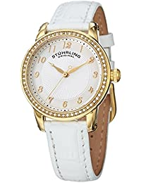 Stuhrling Original Analog White Dial Women's Watch - 651.01