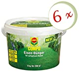 Oleanderhof® Sparset: 6 x COMPO Eisendünger, 5 kg + gratis Oleanderhof Flyer