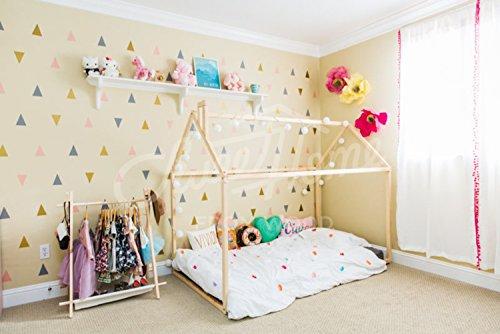 Cama Montessori para colch/ón 140x70cm.