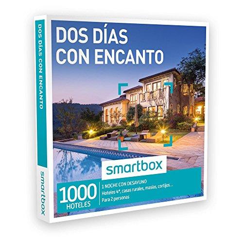 SMARTBOX - Caja Regalo - DOS DÍAS CON ENCANTO - 1000 hoteles de hasta 4*, casas rurales, masías, cortijos, haciendas...