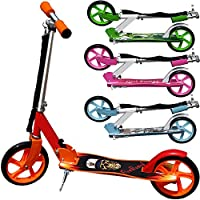 """Kick scooter - """"FireBoard"""" - stylish and foldable (incl.shoulder strap)"""
