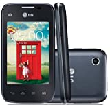 LG L35 Smartphone Android Movistar Entriegelt,(3,15 MP-Kamera, Dual-Core-Prozessor mit 1,2 GHz, 512 MB RAM, HSPA-Konnektivität, Android 4.4.2 KitKat) Schwarz