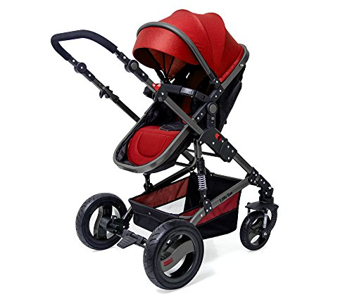 bc0959f00 LuvLap Premier Stroller And Pram (Red) For Rs. 4999   50% OFF others ...