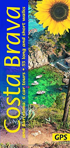 Costa Brava and Barcelona: 6 Car Tours, 55 Long and Short Walks (Landscapes) por Mike Lockwood