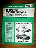 RRTA0415.1 - REVUE TECHNIQUE AUTOMOBILE RENAULT R18 Diesel TD - GTD
