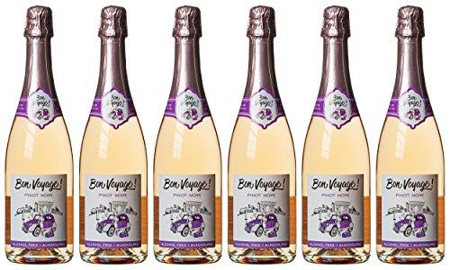 Bon Voyage Alkoholfreier Sekt Pinot Noir (6 x 0.75 l)