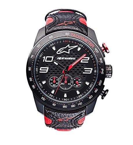 Alpinestars Chronograph Quarz Uhr mit Leder Armband 1036-96001