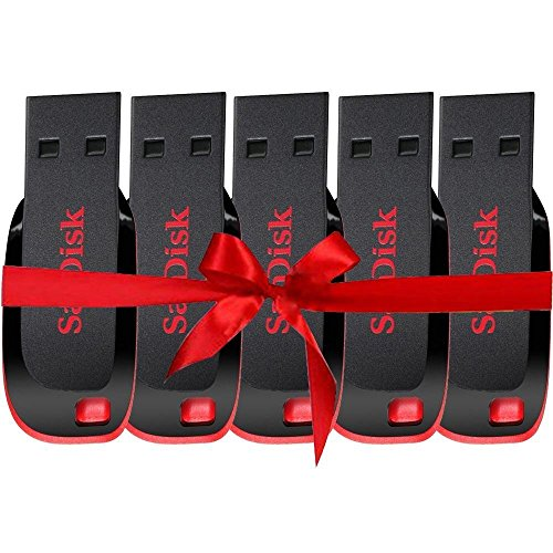 Tfpro Sandisk 16GB Pendrive(Red and Black) - Set of 5