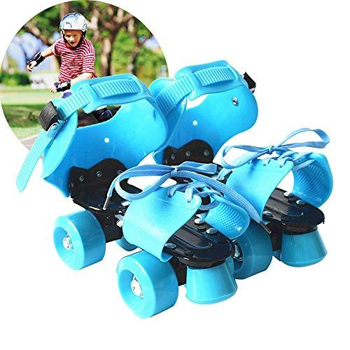Pattini a rotelle di dimensione regolabile per i bambini, pattini pattinanti del rullo fresco per le ragazze dei ragazzi, adatti a Taglia 32/33/34/35/36/37/38/39