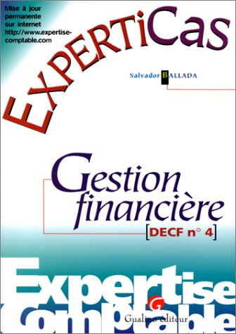 Gestion financière : DECF n °4