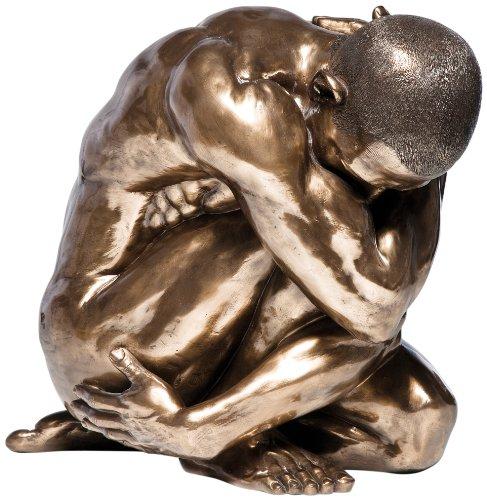 Kare Designs Statuetta Decorativa Raffigurante Uomo Nudo Abbraccio