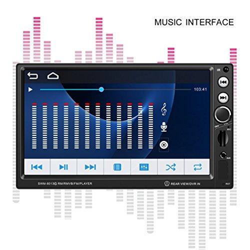 Dailyinshop SWM-8013G 7 Pouces Grand Écran de Navigation GPS de Voiture DVD Audio Video Player