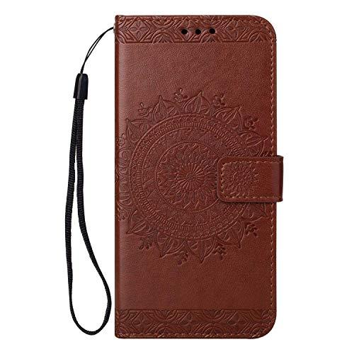 Cover Huawei P20 Lite, Bear Village® Custodia in Pelle di Portafoglio Cover con Funzione Supporto e Chiusura Magnetica per Huawei P20 Lite