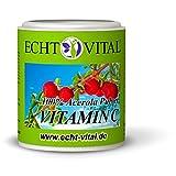 100% reines Acerola Kirsche Pulver - ECHT VITAL VITAMIN C - 1 Dose = 100g ohne Zusatzstoffe