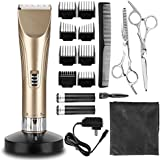 Generic Hair Clippers Hair Trimmer Cordless Hair Clipper Set Quiet Electric Hair Shaver For Men And Babies Home...