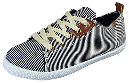 Camo 29128 Kinder-Unisex Freizeit Textil Sommer Sneakers (EU 30-35) Schwarz
