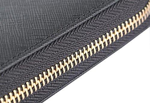 Sezione In Pelle Ms. Lungo Frizione Ad Alta Capacità RoseRed