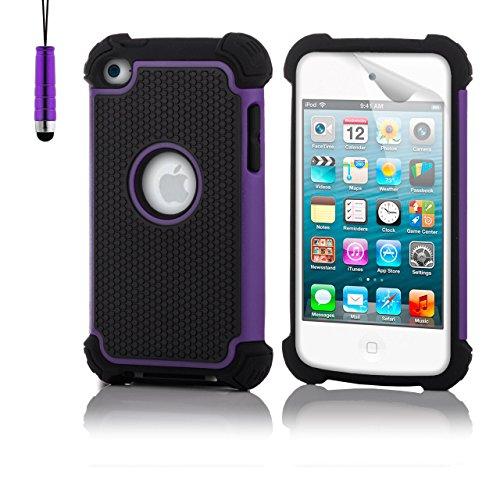 Preisvergleich Produktbild 32nd Schutz Stoßdämpfung hülle [ShockProof] für Apple iPod Touch 4 (4G)