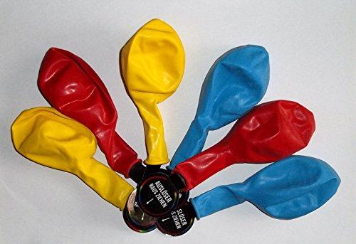 Sachsen Versand 9 LED leuchtende Luft-Ballon-s-Hochzeit-Geburtstag-Party-Deko-Geschenk-Idee-Schmuck-Schmücken