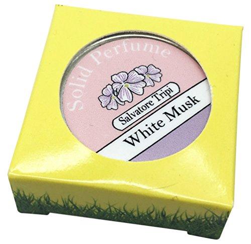 salvatoretripi blanco almizcle natural sólido Perfume 10G italiano receta
