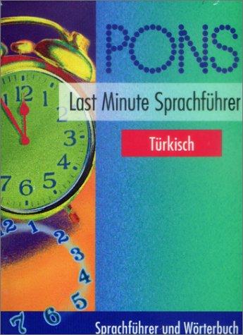 Preisvergleich Produktbild PONS Last Minute Sprachführer, Türkisch